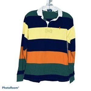 Polo Ralph Lauren Boys Multi Color Rugby Shirt S L